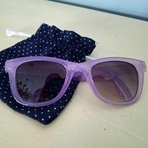 American Eagle Outfitters lilac folding sunglasses